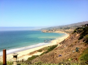 The Portuguese Bend Beach Club in Rancho Palos Verdes