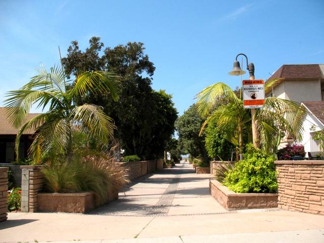 Hermosa Beach Sand Section - Walk Street