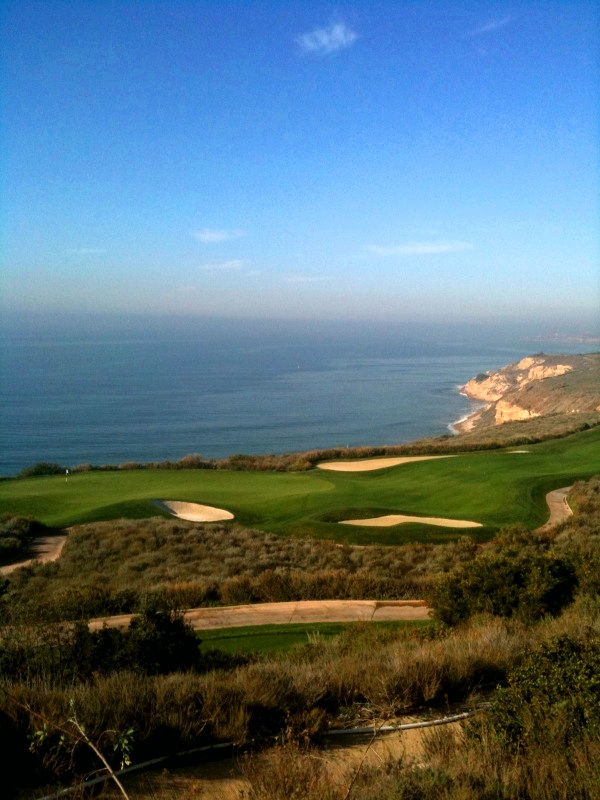 La Rotunda overlooks the Trump National Golf Course in Rancho Palos Verdes California