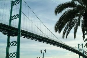 Vincent Thomas Bridge - San Pedro & Long Beach