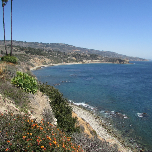 View of Abalone Cove in Palos Verdes