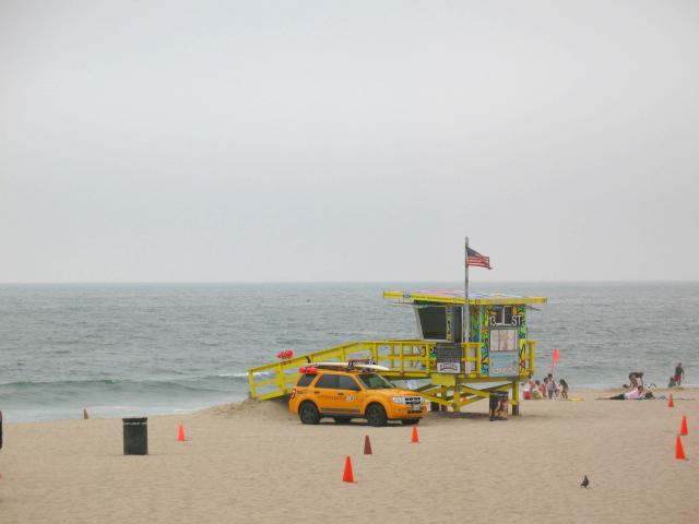 Hermosa Beach - Lifeguard Patrol