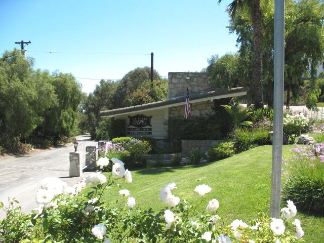 Entry to the La Vista Verde neighborhood of Rancho Palos Verdes