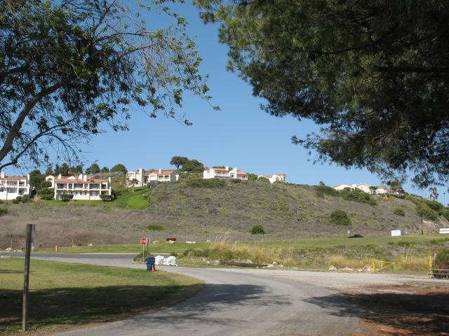 Bluff top homes in Palos Verdes