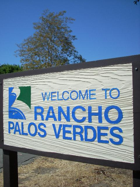 Rancho Palos Verdes Sign