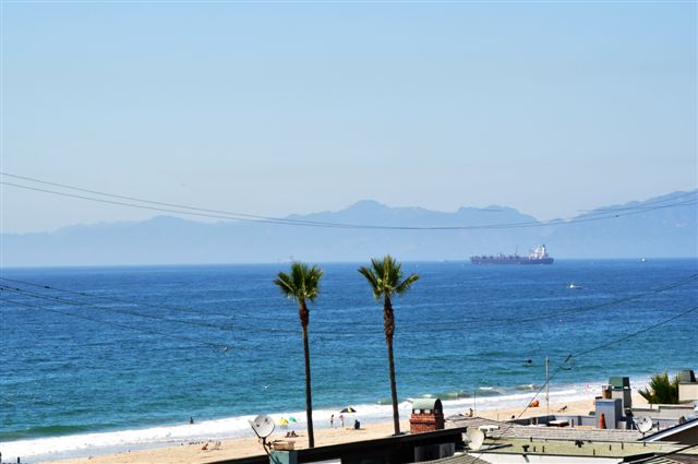 Ocean Santa Monica Mtns