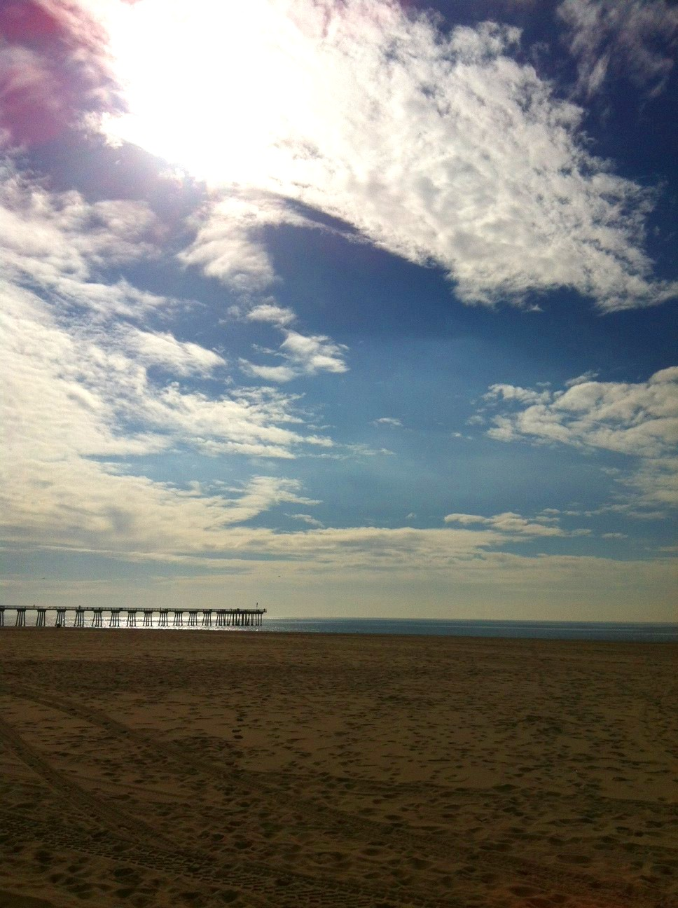 Hermosa Beach December 2012