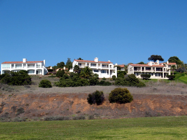 Hillside homes in Palos Verdes