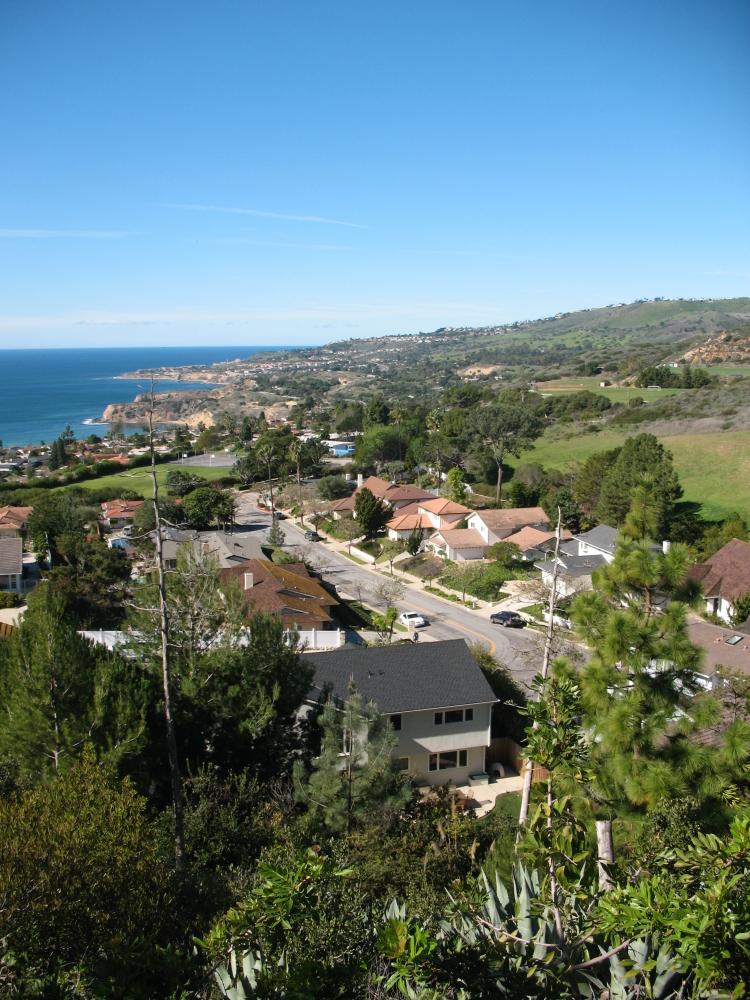 Ladera Linda neighborhood in Rancho Palos Verdes CA