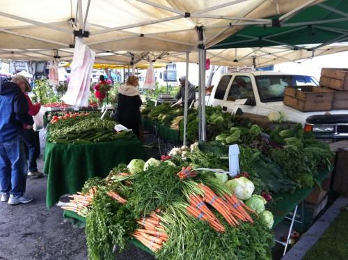 Palos Verdes Farmers Market Veggies