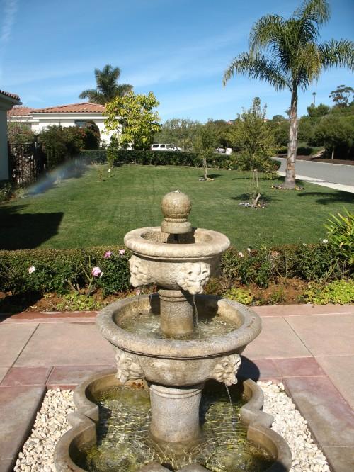 Fountain in Rancho Palos Verdes