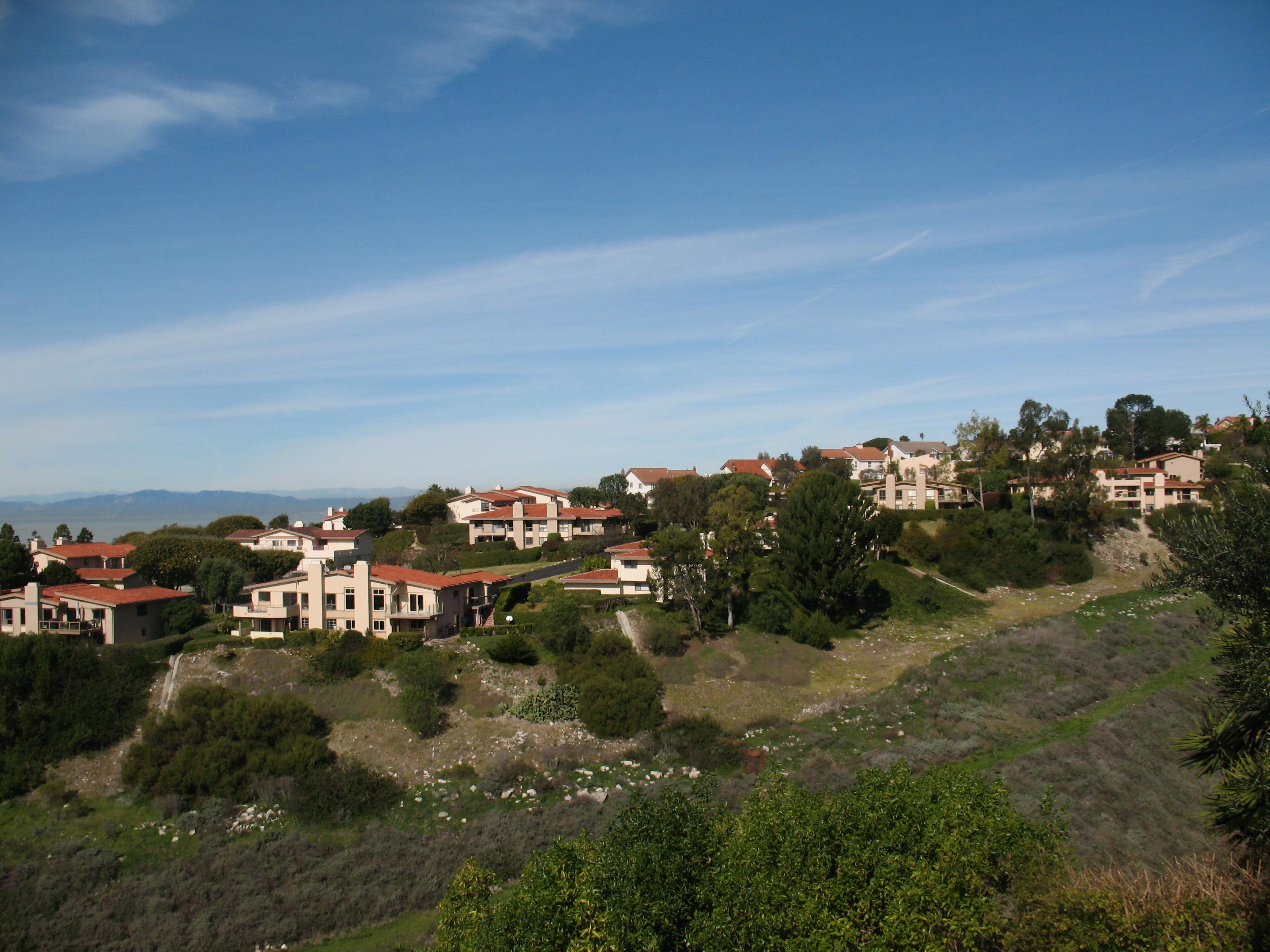 Luxury estates in Palos Verdes California