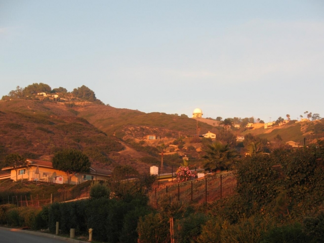 Homes on the hills in Palos Verdes