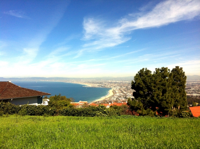 Palos Verdes View of South Bay