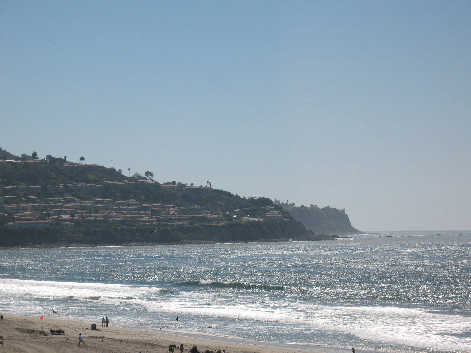 Palos Verdes from Torrance Beach