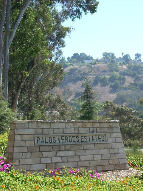 Palos Verdes Estates sign