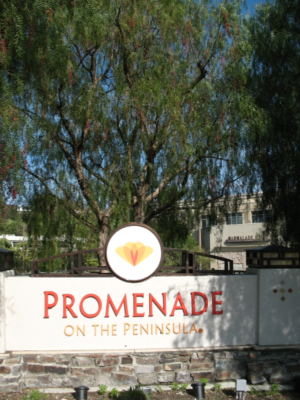 Promenade mall in Palos Verdes