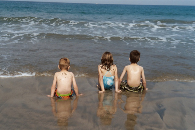 Grandkids at PV Beach