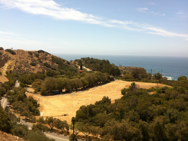 View from the Portuguese Bend Club in Rancho Palos Verdes CA