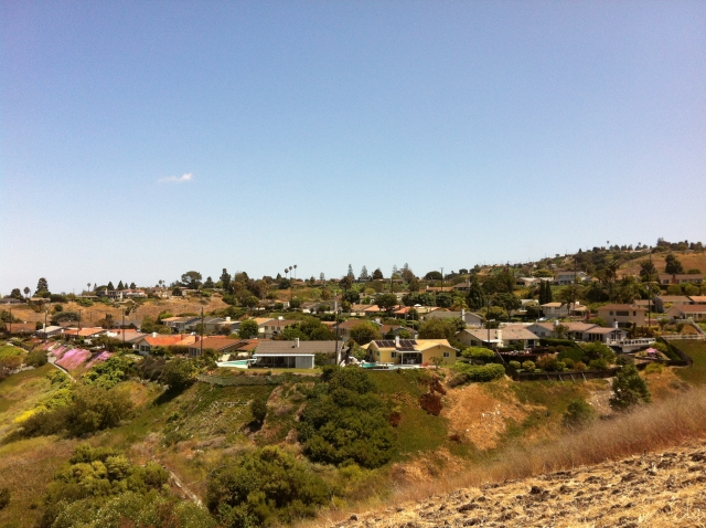 The Silver Spur section of Palos Verdes