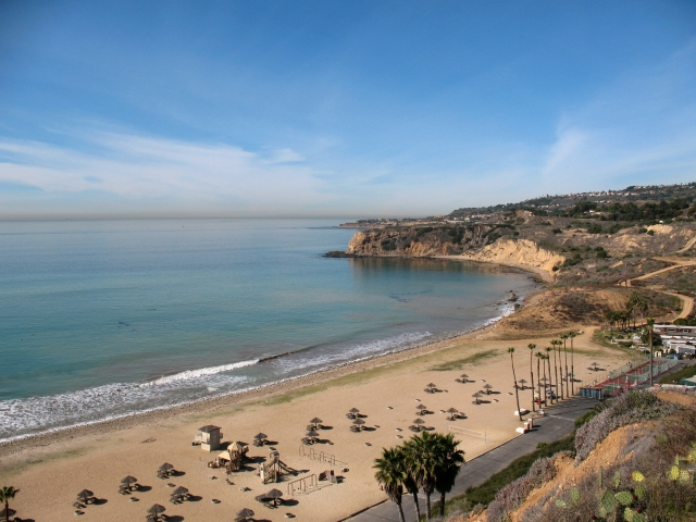 Portuguese Bend Beach Club in Palos Verdes