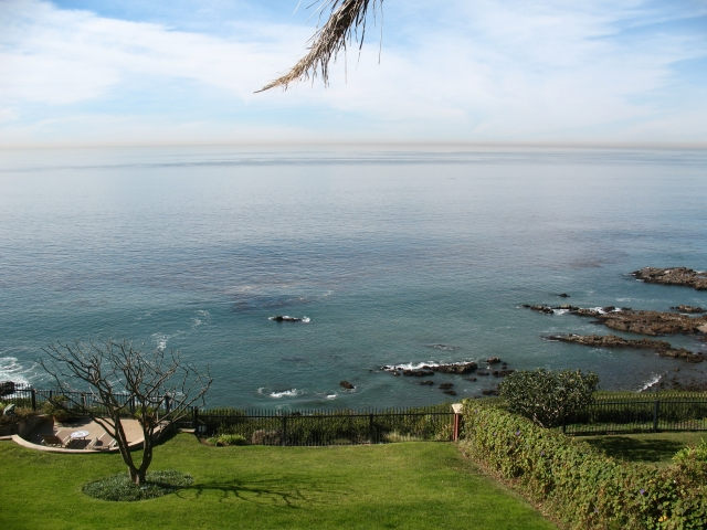 View from a luxury home in the PV Drive West area.