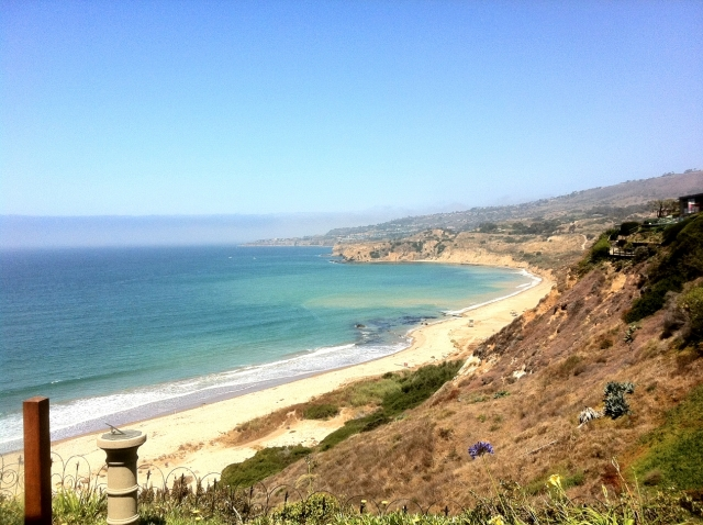 View from Maritime in Palos Verdes