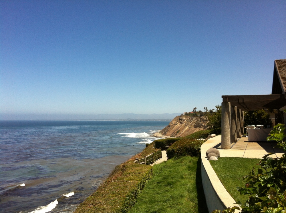 Homes off Rocky Point in Lunada Bay
