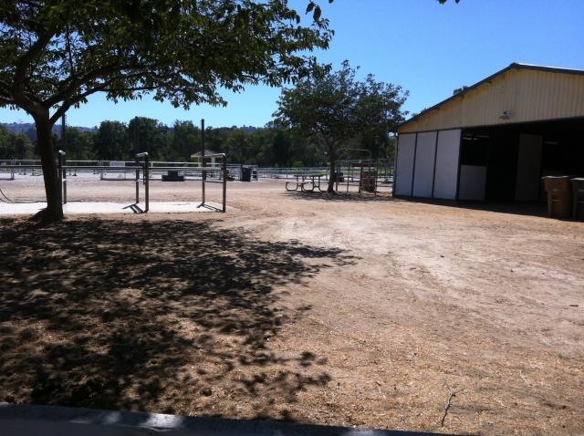 Ernie Howlett Park - Horse facilities