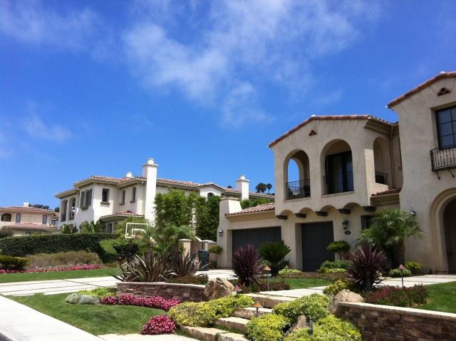 Luxury homes in Palos Verdes, CA