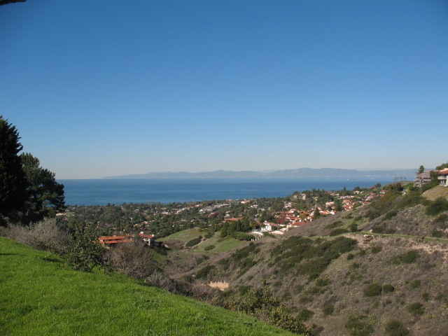 View from Upper Lunada Bay in Palos Verdes