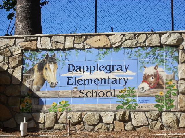 Dapplegray school sign (4)
