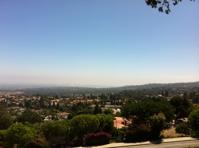 View of Los Angeles from Palos Verdes