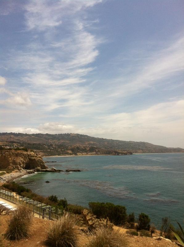The Palos Verdes coast