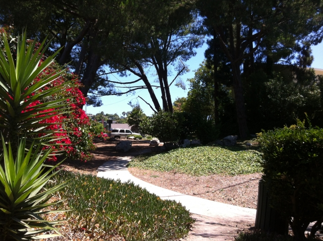 Clovercliff Park in the Los Verdes neighborhood of Palos Verdes