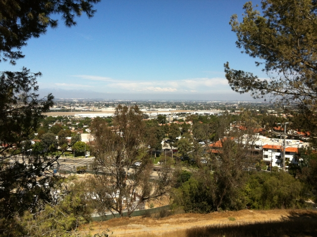 View of Los Angeles from Rolling Hills Estates