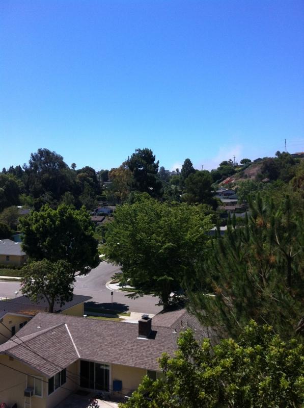 Overlooking Silver Spur neighborhood homes in Palos Verdes