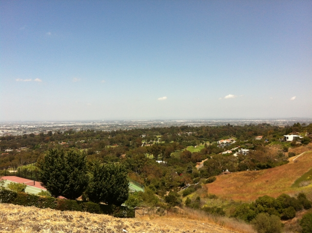 View of Palos Verdes Golf and city