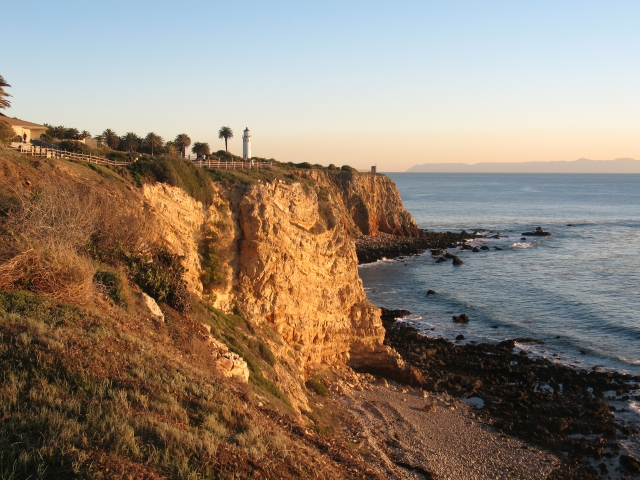 The Palos Verdes Lighthouse at Pt Vicente