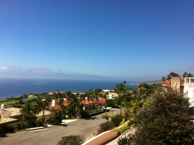 View from Palo Vista - Luxury Palos Verdes home