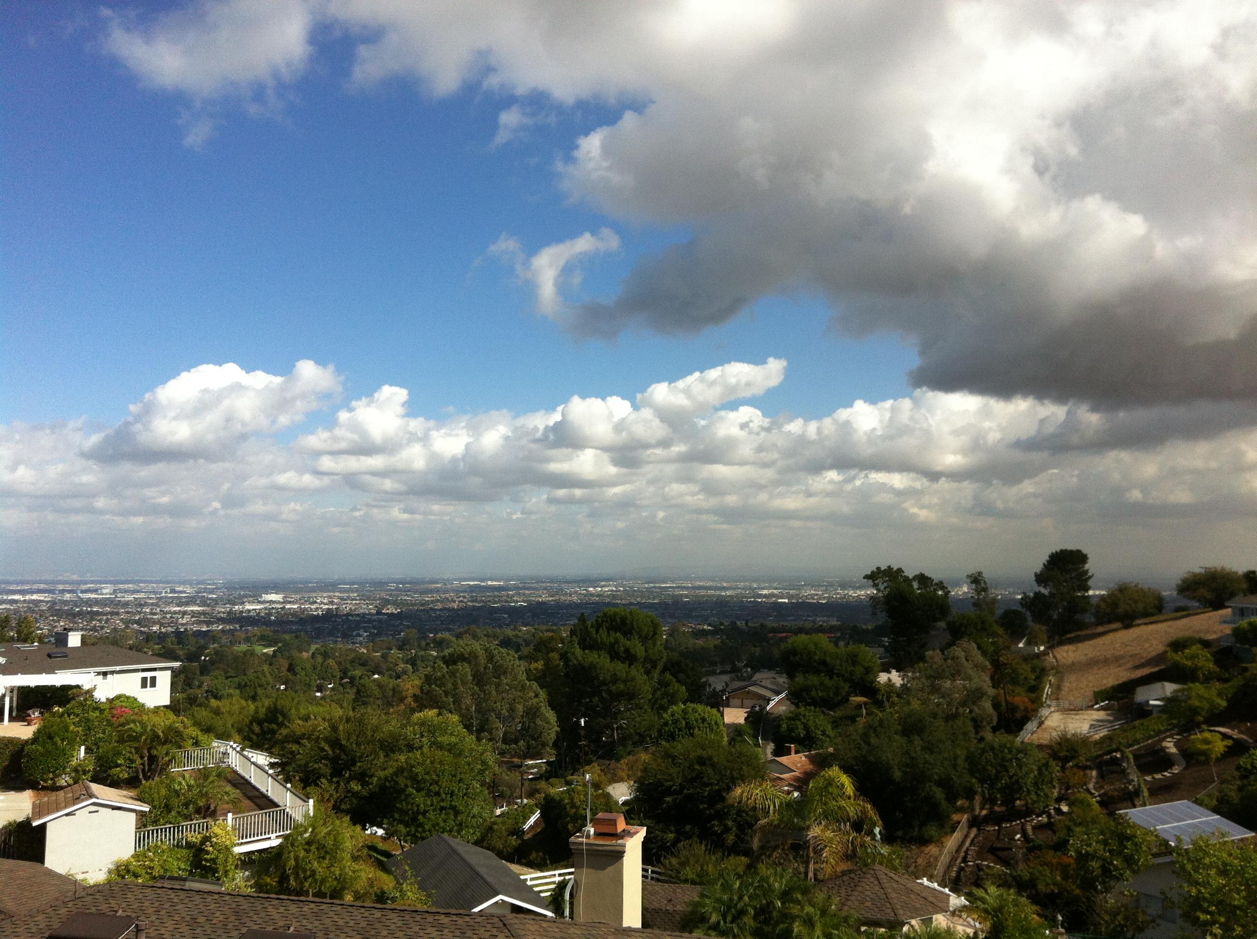 The eastside of Palos Verdes