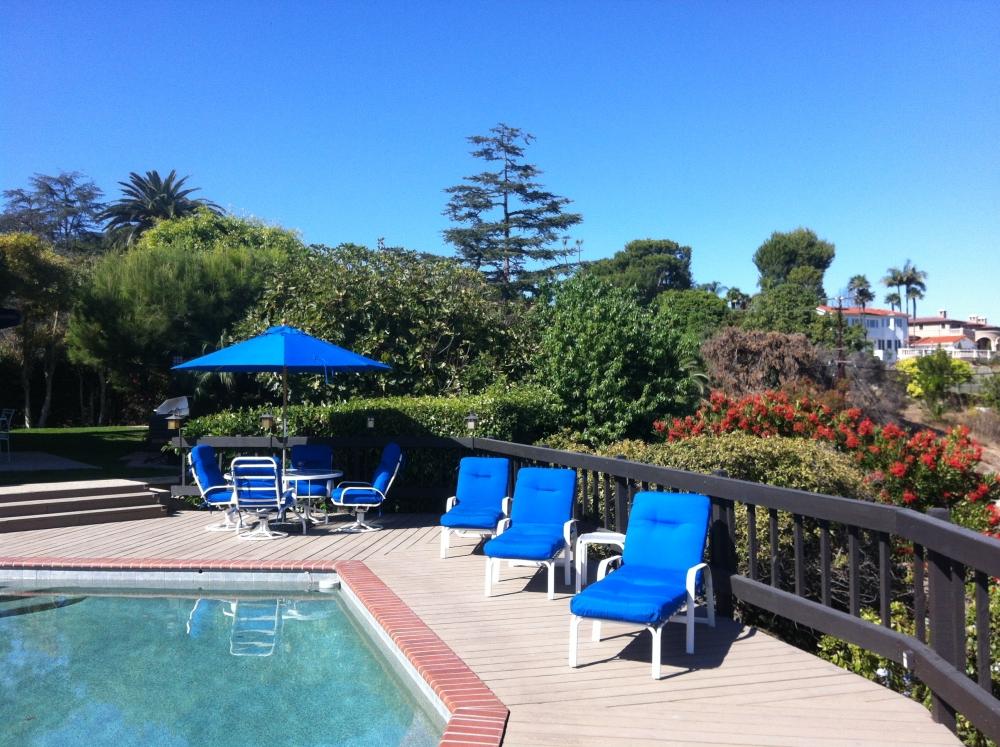 Poolside in Palos Verdes - PV Drive East