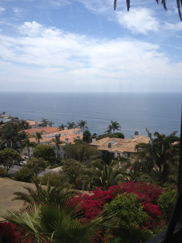 Luxury homes along the Palos Verdes coastline