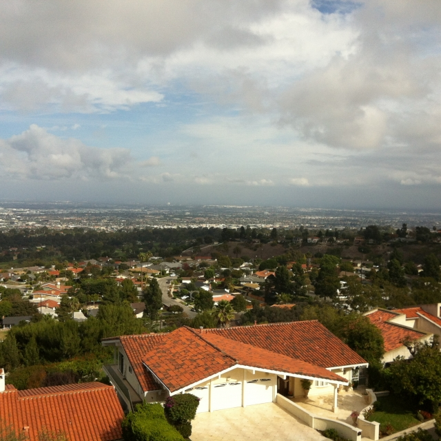 View on the north side of Palos Verdes