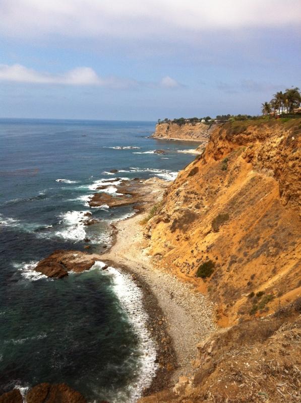 The Palos Verdes coastline