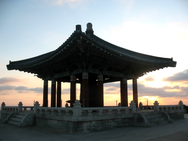 Korean Bell in San Pedro