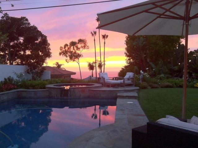 Sunset in Los Verdes