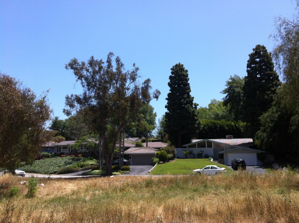 Homes near open space in Valmonte