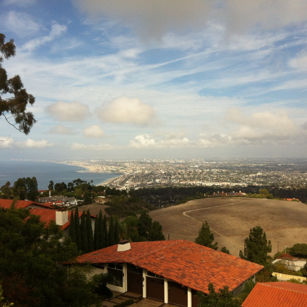 View of the bay from Palos Verdes