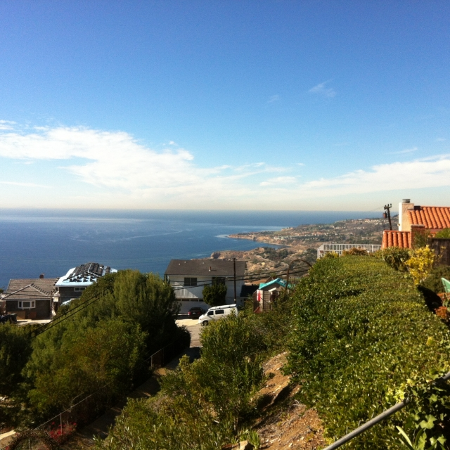 View from Mira Catalina in Palos Verdes